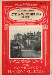 Rye & Winchelsea Official Homeland Handy Guides Photo  Map Book