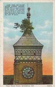 Indiana Greensburg Court House Tower