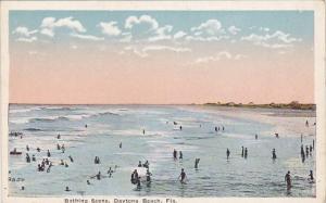 Florida Daytona Beach Bathing Scene