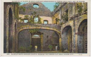 RUINS OF SANTO DOMINGO CHURCH PANAMA