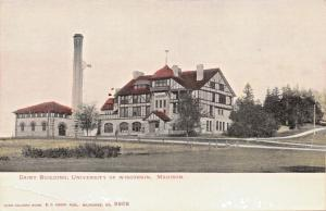 MADISON WISCONSIN-UNIVERSITY-DAIRY BUILDING-KROPP PUBL #2202 POSTCARD 1900s
