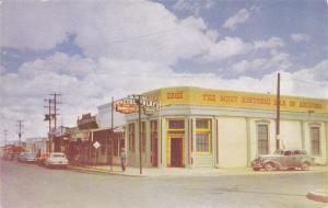 TOMESTONE , Arizona , 40-50s ; Street view at Crystal Palace