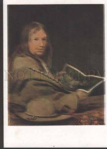 118420 Self-Portrait GELDER Famous PAINTER Artist Old color PC