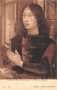 Bruges Belgium, Belgique, Belgie, Belgien Portrait de Martin Hieuwenbowe Brug...