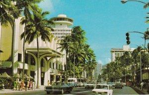 Hawaii Waikiki Kalakaua Avenue sk5719