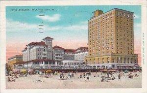 New Jersey Atlantic City Hotel Chelsea 1933