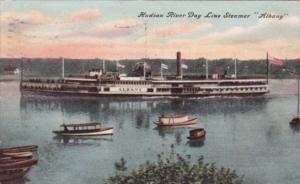 Hudson River Day Line Steamer Albany 1909