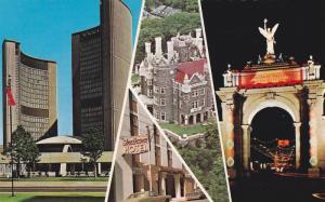 New City Hall, Casa Loma, Princes' Gates To Canada National Exhibition Park, ...