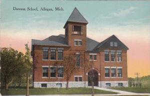 Michigan Allegan Dawson School 1914