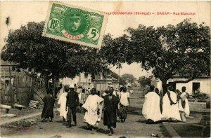 CPA AK Dakar - Rue Blanchat SENEGAL (778508)