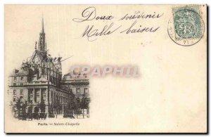 Paris Saint Chapel Old Postcard