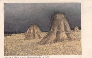 AS Eduard EULER : Gewitterschwiile im Felde , Austria , 00-10s