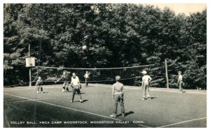 Connecticut   Woodstock Valley , Y.M.C.A. Camp , Volley Ball