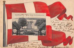 Svendborg Denmark View from Christiansminde Vintage Postcard JC932613