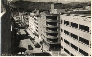 bolivia, LA PAZ, Avenida Camacho (1930s) RPPC Postcard
