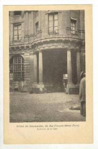 Hotel de Beauvais, Paris, France, 00-10s interieur de la Cour