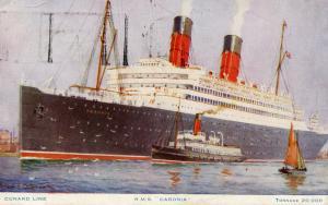 Cunard Line - RMS Caronia
