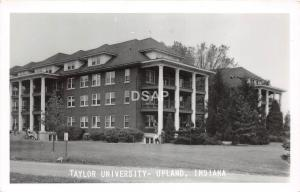 B64/ Upland Indiana In Real Photo RPPC Postcard 1960s Taylor University 4