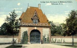 Lodge Gate, Biltmore Estate Biltmore NC Unused