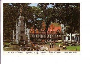La Place D'Armes,, Quebec City, Quebec,