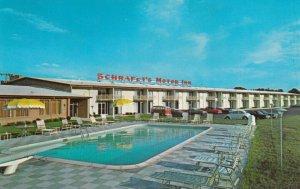 Schraff's Restaurant & Motor Inn, Exit 23, N.Y. State Thruway , 50-60s