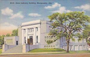Alabama Montgomery State Judiciary Building