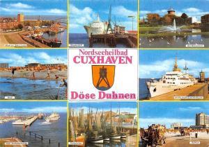 Cuxhaven Doese Duhnen multiviews Schiff Kutterhafen Boats Alten Liebe Beach