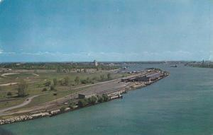 View From The Bluewater Bridge, Looking Down The St. Clair River, Point Edwar...