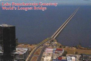 Lake Pontchartrain Causeway World's Longest Bridge New Orleans