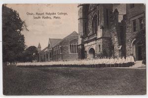 Choir Mount Holoke College, South Hadley MA