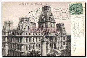 Postcard Old Montreal City Hall