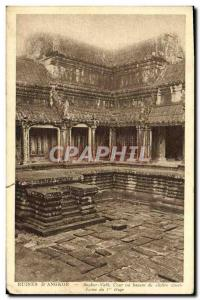 Old Postcard Ruins of Angkor