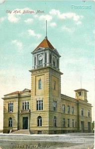 MT, Billings, Montana, City Hall, American Import No. 269