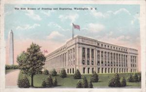 New Bureau Of Engraving and Printing 1921 Washington D C