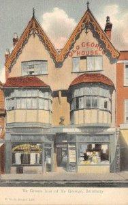 Ye Greate Ime of Ye George, Salisbury, UK Carter & Sons c1910s Vintage Postcard