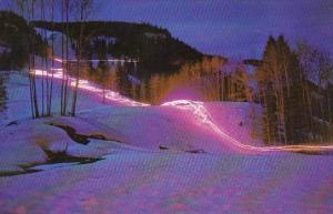 Torch Descent On Skis During Cocktail Hour Aspen Highlands Aspen Colorado