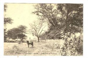 Afrique Occidentale, Interieur De Village, Man On A Horse, Dakar, Senegal, 19...