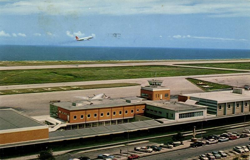 curacao, N.W.I., WILLEMSTAD, Dr. Albert Plesman Airport (1966) Stamp