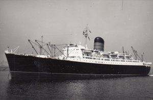 RP: Ocean Liner SYLVANIA , 1958