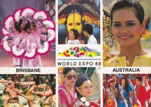People , World Expo 88 , Brisbane , Queensland , Australia , 1988