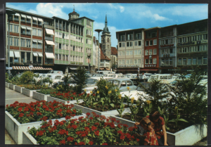 Post Card Stuttgart Germany  Marktplatz