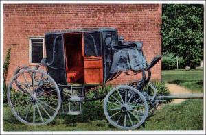 Stage Coach of General Andrew Jackson, Hermitage Nashville