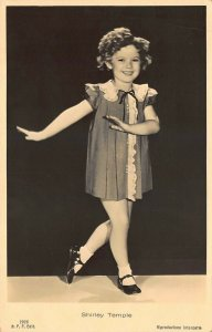 Shirley Temple Smiling Dance Real Photo Postcard Firenze 125