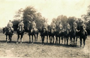 Horsesports Real Photo Group Of Riders 1927 Holland 04.00