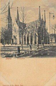 SKARA SWEDEN~DOMKYRKAN~1900s GRANQVIST PHOTO POSTCARD