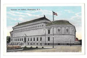 Washington DC Corcoran Art Gallery Postcard