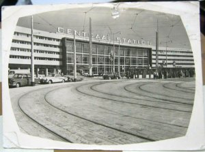 Netherlands Rotterdam Centraal Station - posted 1958