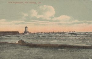 PORT STANLEY , Ontario, 1900-10s ; LIGHTHOUSE