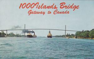 1000 Islands Bridge , Ontario , Canada , 40-60s