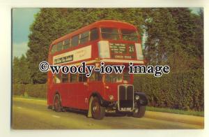 tm5542 - London Transport Bus - NLE 882 - postcard